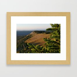 Sunrise over Medicine Bow Framed Art Print