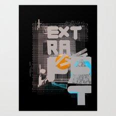 Extra-Fat Art Print
