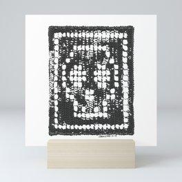 Crochet Impressions: SKULL Mini Art Print