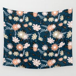 Marseille - Floral Pattern Wall Tapestry