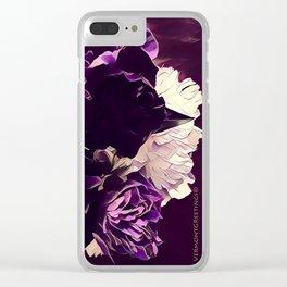 Pretty in Purple Clear iPhone Case