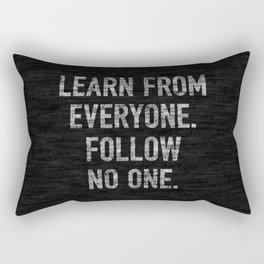 Learn from Everyone Rectangular Pillow