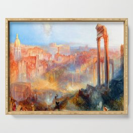 William Turner Modern Rome Serving Tray