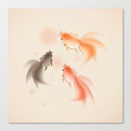 Goldfish 001 Canvas Print