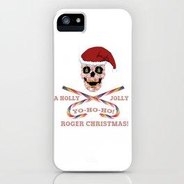 Holly Jolly Roger Xmas iPhone Case