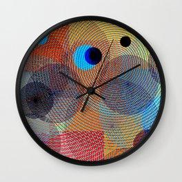 Superposition II Wall Clock