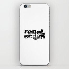 show your allegiance… rebel scum iPhone Skin