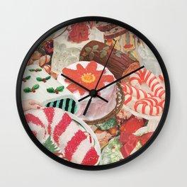 Holiday Bakes Wall Clock