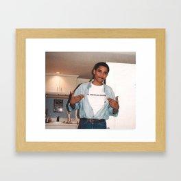 The American Dream - Obama Framed Art Print
