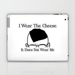 I Wear The Cheese Laptop & iPad Skin