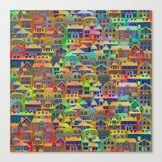 Fairytale City #2 Canvas Print