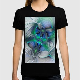 Fantasy Place, Abstract Fractal Art T-shirt