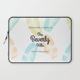 The Beverly Hills Hotel Leaf Laptop Sleeve