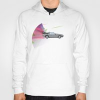 back to the future Hoodies featuring Back to the Future by avoid peril