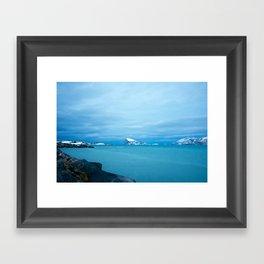 Norwegian coast 1 Framed Art Print