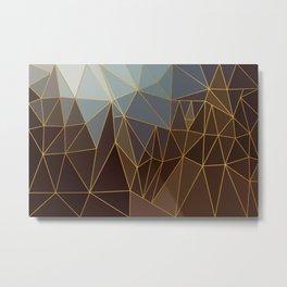 Autumn abstract landscape 2 Metal Print