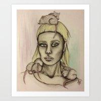 yolandi vesser Art Print