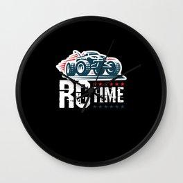 RC Time RC Car Model Build Wall Clock