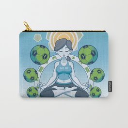 Get Fit - Blue Carry-All Pouch