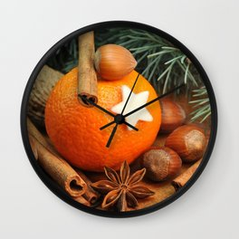 Smells like Christmas Wall Clock