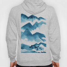 Mountain blue Hoody