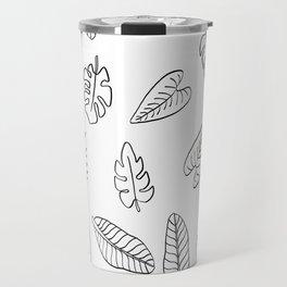 Tropical Plants Travel Mug