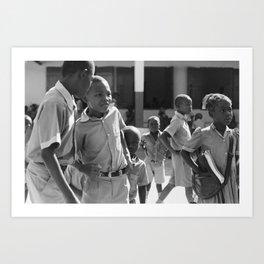 Hide away / Pignon, Haiti Art Print