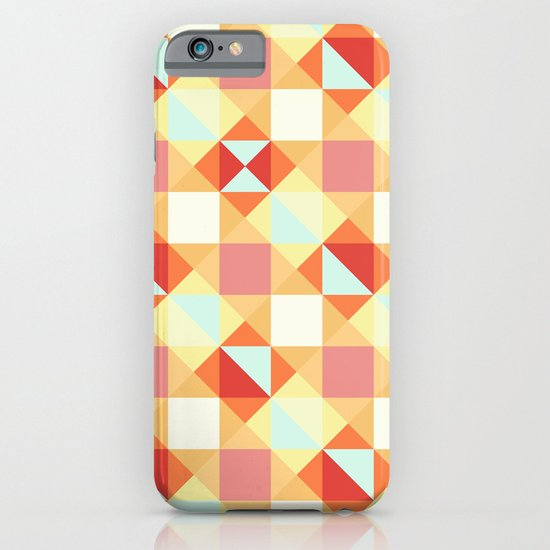 Autumn Breeze Triangle Pattern iPhone & iPod Case