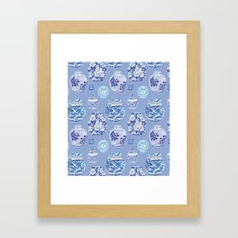 Chinoiserie Ginger Jar Collection No.6 Framed Art Print