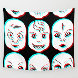 Pediophobia Wall Tapestry