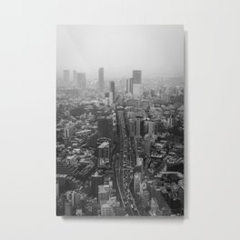 Tokyo Suburb Metal Print