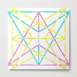 Threefold Core Metal Print