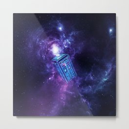 Tardis Nebula Metal Print