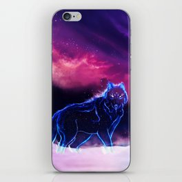 WOLF - Fang Of The North iPhone Skin