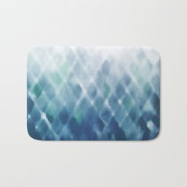 Diamond Fade in Blue Bath Mat