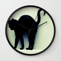 legolas Wall Clocks featuring What a Good Nap! by Bob Pestana