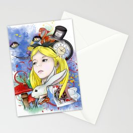 Alice's Adventure in Wonderland Stationery Cards