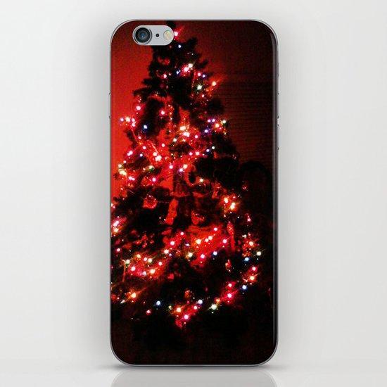 Christmas Tree. iPhone & iPod Skin
