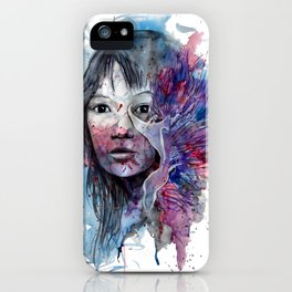 Flabellina by carographic, Carolyn Mielke iPhone Case