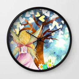 Fairy Tale Dreams Wall Clock