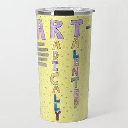 An Art Person Travel Mug