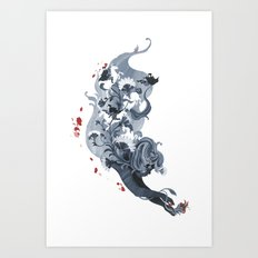 Luckless Art Print