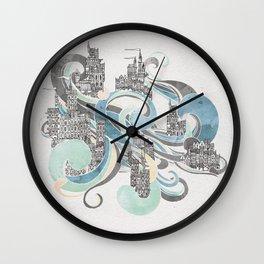 Salann - Salt City Wall Clock