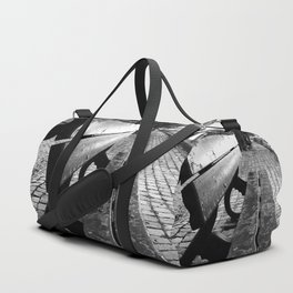 shot on iphone .. potterierei bench Duffle Bag