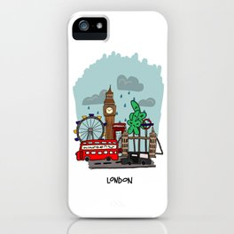 London, England iPhone Case