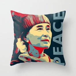 THE FIGHTER! Throw Pillow