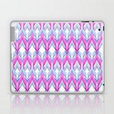 Pink gray zigzag.  Laptop & iPad Skin