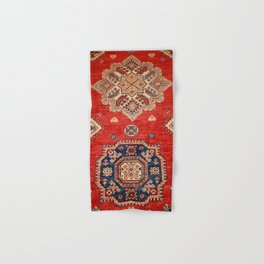 Natural Dyed Handmade Anatolian Carpet Hand & Bath Towel