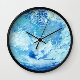 Water ceilling Wall Clock