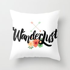 Wanderlust 02 Throw Pillow
